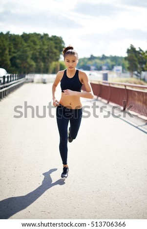 Determined to run