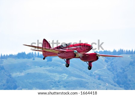 DH88 Comet Racer - stock photo