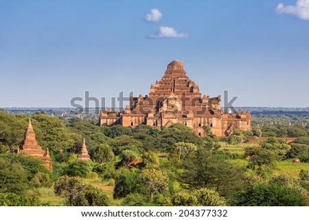 Dhammayangyi bagan, myanmar - stock photo