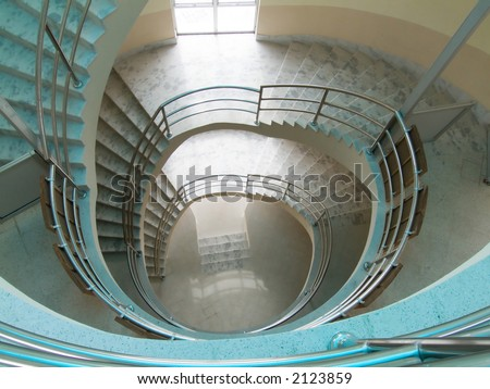 Dhulikhel hospital's stairs