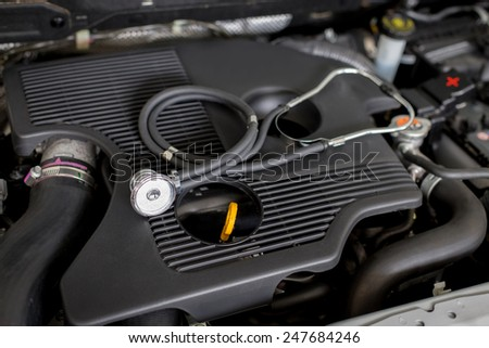Diagnosis engine at service station