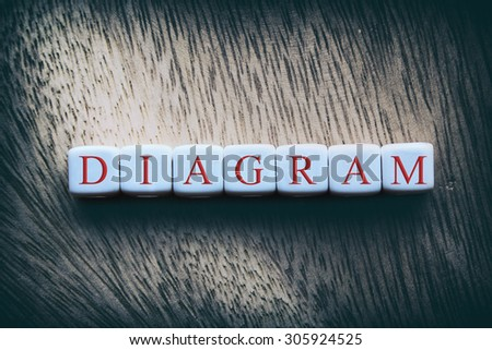 Diagram word written on white cubes stock photo royalty free diagram word written on white cubes ccuart Gallery