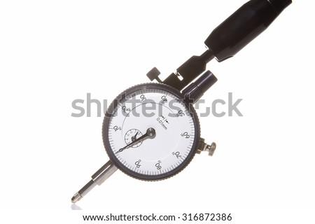 Dial Indicator Gauge - stock photo