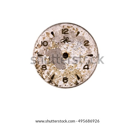 Dial old clock