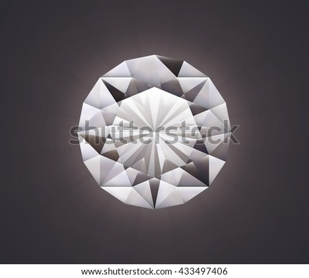 diamond(brilliant cut)