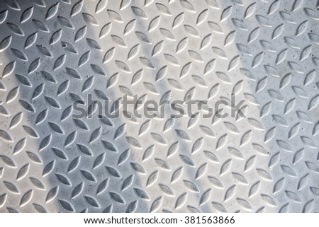 diamond metal plate background