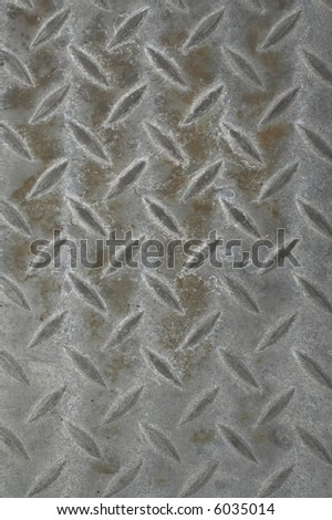 Diamond plate - stock photo