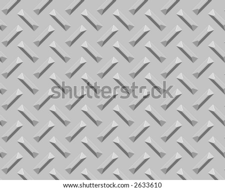 diamond plate industrial background  silver beveled