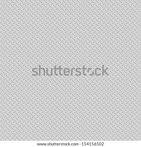 Diamond plate structure as background - stock photo