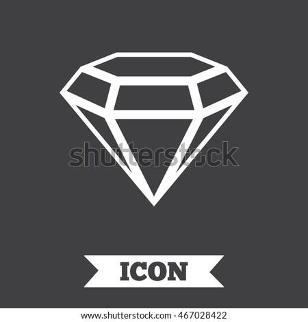 Fabulous diamond icon vector pics