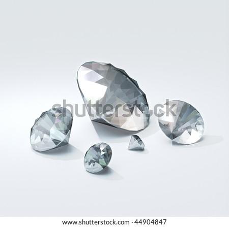 Diamond Trove - stock photo