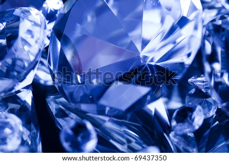 Diamonds and Gemstones - stock photo