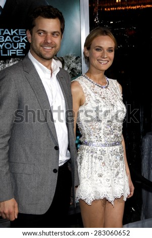 Diane Kruger and Joshua Jackson at the Los Angeles premiere of 'Unknown' held at the Mann Village Theatre in Westwood on February 16, 2011.