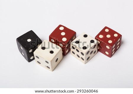 Dice five in a row