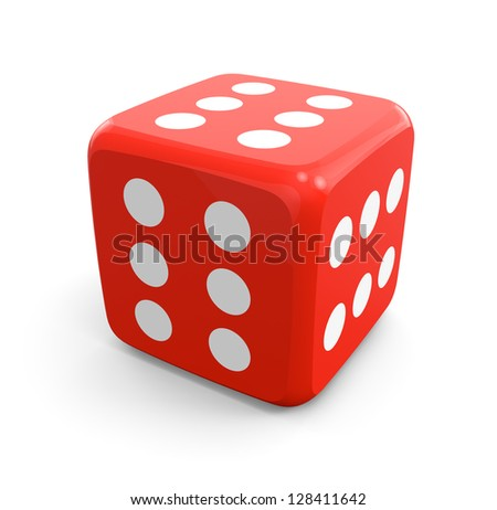 Dice which Always Winning - stock photo