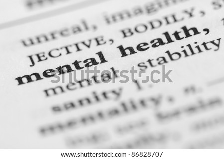 Dictionary Series - Mental Health - stock photo
