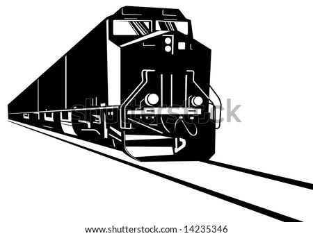 Freight Train Silhouette Stock Photos, Images, & Pictures ...