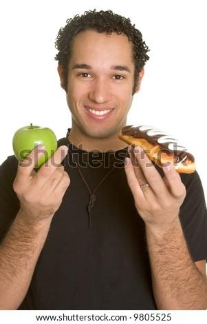 Diet Decision - stock photo