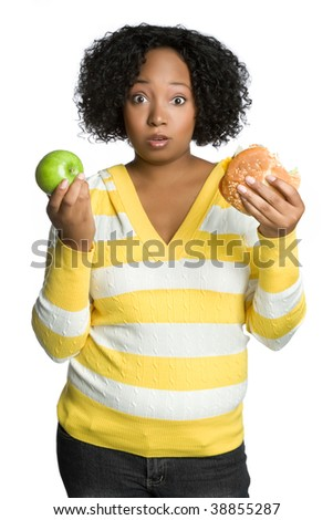 Diet Woman - stock photo