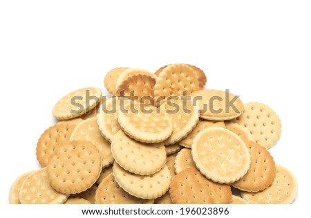 Dietetic biscuits. Photo.