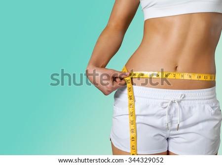 Dieting. - stock photo