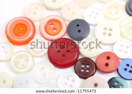Different colors and shades buttons