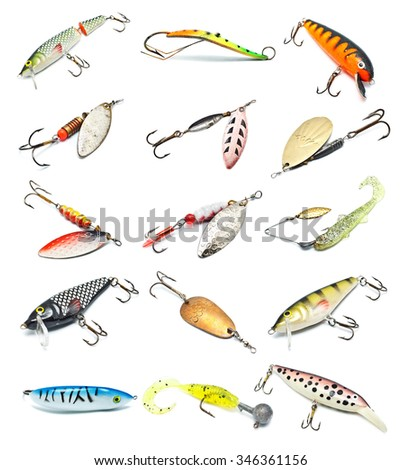 crank-bait stock photos, royalty-free images & vectors - shutterstock, Hard Baits