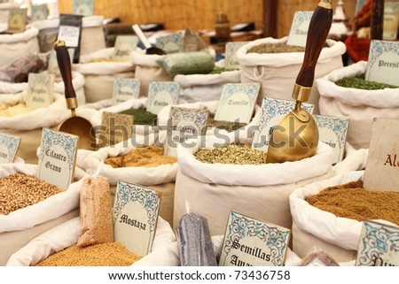Different kind of tea - stock photo