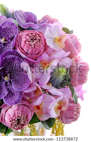 different nice flower - stock photo