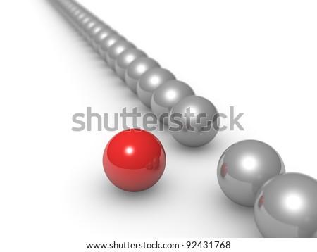 Different sphere - stock photo