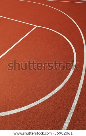 Different sport arenas in abstract view - stock photo