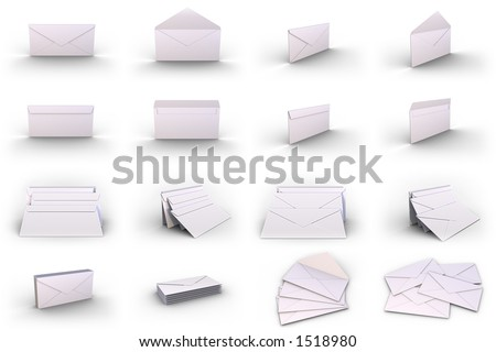 Different type of Different type of envelope..