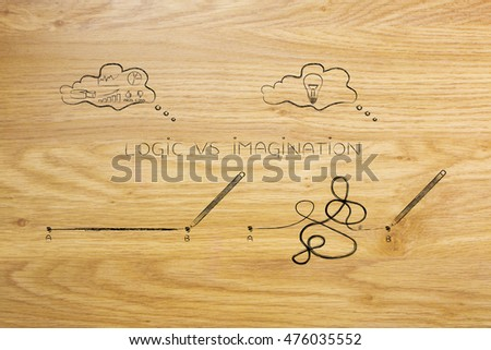 Different Types Of Lines In Art Drawing : Different types lines connect point b stock illustration