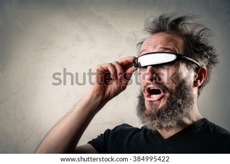 Different visions - stock photo