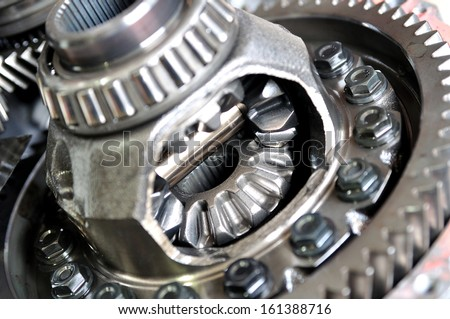 Differential - stock photo
