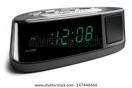 Digital Alarm Clock - stock photo