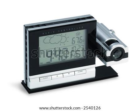 digital clock - stock photo