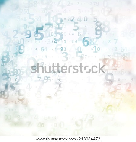 Digital code background, abstract illustration - stock photo