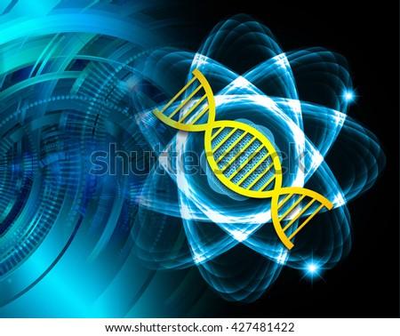 digital data background,blue abstract light hi tech pixel internet technology, Cyber security concept, Cyber digital, Cyber computer, Cyber background,cyber data, Cyber Technology, Atom, nuclear,DNA - stock photo