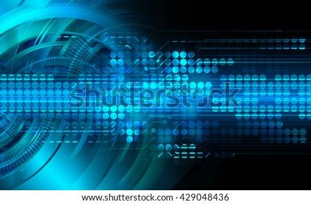 digital data background,blue abstract light hi tech pixel internet technology, Cyber security concept, Cyber digital, Cyber computer, Cyber background,cyber data, Cyber Technology - stock photo
