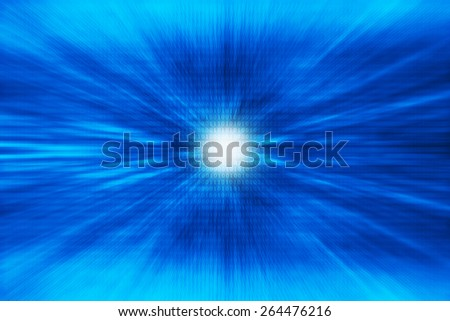 Digital data zoom abstract background - stock photo