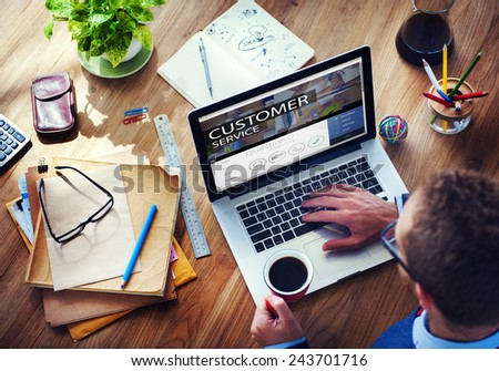Digital Device Electronic Internet Connecting Wireless Concept - stock photo