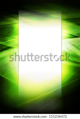 Digital green background. Rasterized version - stock photo