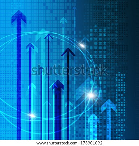 Digital image background material - stock photo
