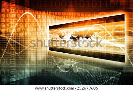 Digital Marketing and Analysis Tool as a Art - stock photo