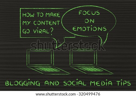 digital marketing, blogging and social media tips: create emotions