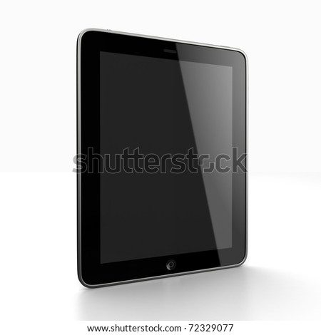 Digital pad - stock photo