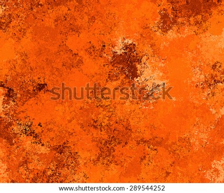 Digital Painting Beautiful Abstract Multi-Color Water Color Paint in Different Shades of Orange Background