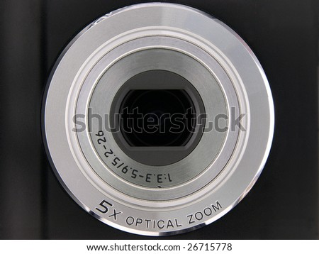Digital Point & Shoot Camera Lens 5X Optical Zoom