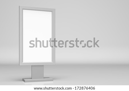 Digital Signage - stock photo